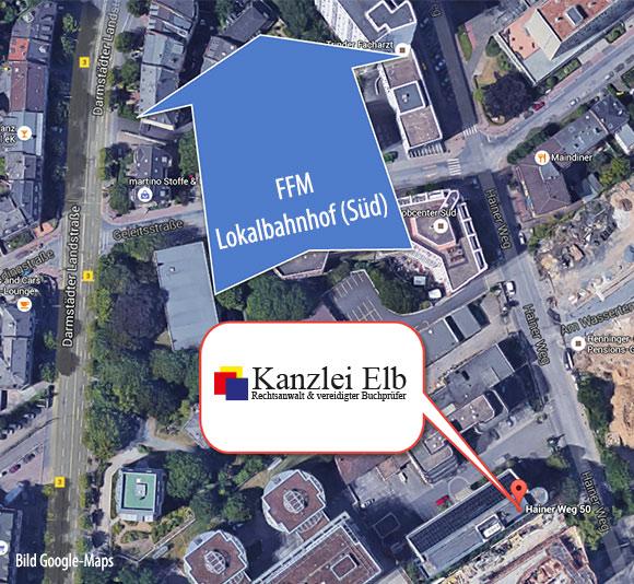 Kanzlei-Elb-nähe-Lokalbahnhof